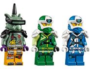 71709 Jay and Lloyd's Velocity Racers Minifigures