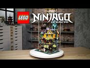 LEGO NINJAGO City Gardens - LEGO Designer Video 71741 -10 Year Anniversary