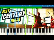 LEGO NINJAGO - 21st Century Ninja by The Fold - Synthesia Piano Tutorial