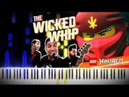 Lego Ninjago - Wicked Whip by The Fold - Synthesia Piano Tutorial