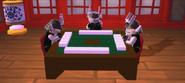 Самураи играют в игру