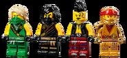 71736 Boulder Blaster Minifigures