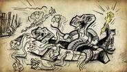 Garmadon releasing the Serpentine
