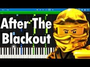 LEGO NINJAGO - After The Blackout by The Fold - Synthesia piano tutorial
