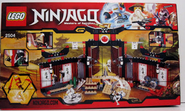 Ninjago 2504 Back Box