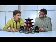 Temple of Airjitzu Lego Ninjago 70751 Designer Video
