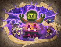 Mural — Dark Island Trilogy