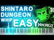 -EASY- LEGO Ninjago Shintaro Dungeon Whip - Synthesia Piano Tutorial