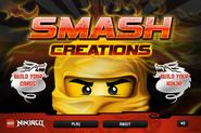 Lego Ninjago Creations Menu