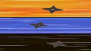Shurikens background