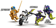 71738 Zane's Titan Mech Battle Minifigures 2