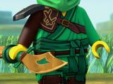 Lloyd's golden sword