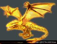 NINJAGO Golden Dragon efx