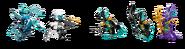71754 Water Dragon Minifigures 2