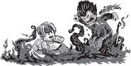 Tanabrax vs Garmadon (2)