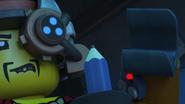 The Mechanic testing robo-arm