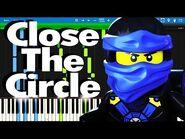 LEGO Ninjago - Close The Circle by The Fold - Synthesia Piano Tutorial