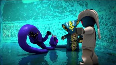 The Story Of Pythor - LEGO Ninjago - Villain Throwback Mini Movie