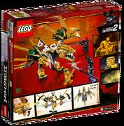 70666 The Golden Dragon Box Backside