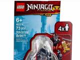 40374 Golden Zane Minifigure Accessory Set