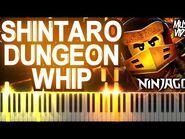 LEGO Ninjago Shintaro Dungeon Whip by The Fold - Synthesia Piano Tutorial