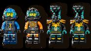 71752 Ninja Sub Speeder Minifigures