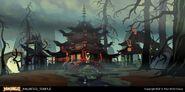 Haunted Temple (Concept Art)