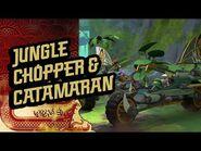 Ninjago S3 - Jungle Chopper & Catamaran - The Island-2