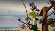 Клэнси с пиратской саблей - 720р