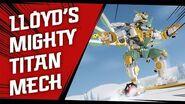Lloyd's Titan Mech vs