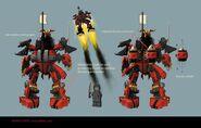 Samurai X mech (Concept Art)