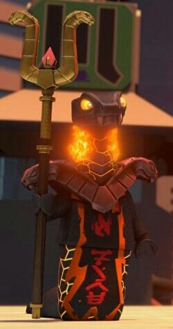 Char's snake scepter