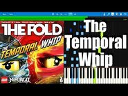 LEGO NINJAGO - The Temporal Whip by The Fold - Synthesia Piano Tutorial