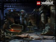 Ninjago Hands of Time - Unkown Room (Concept Art)