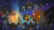 Giant spider anime 1