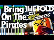 LEGO NINJAGO - Bring On The Pirates by The Fold - Synthesia Piano Tutorial