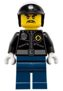 Movie Officer Toque Minifigure