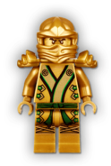 Golden Lloyd Minifigure