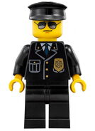 DOTD Prison Guard Minifigure