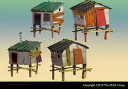 NINJAGO ShantyTown Huts