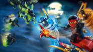 Ninjago Possession Art - Cartoon Network Africa