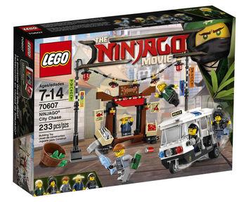 70607 Ограбление киоска в Ниндзяго Сити
