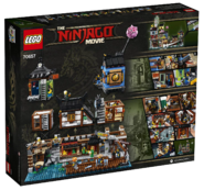 70657 Ninjago City Docks Box Backside