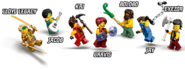71735 Tournament of Elements Minifigures 2