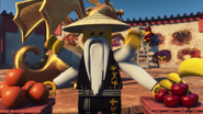 Wu with four arms