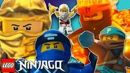 Meet the LEGO NINJAGO Heroes LEGO NINJAGO Master of Spinjitzu