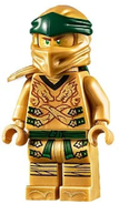 Legacy Golden Lloyd With Armor Minifigure