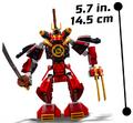 70665 Samurai Mech 3