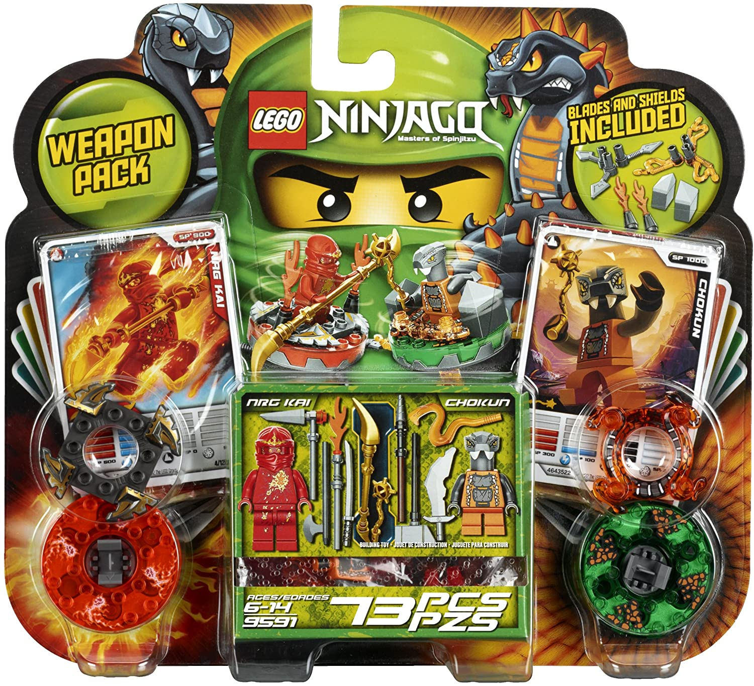 9591 Weapon Pack