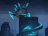 Kalmaar's assault on Ninjago City